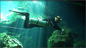 Advanced Side Mount Cave Diver